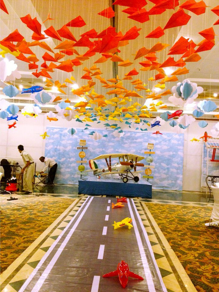Only best 25 ideas about birthday return gifts on for Aviation decoration ideas