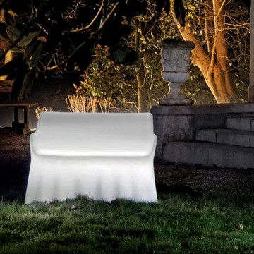 Lighted outdoor furniture