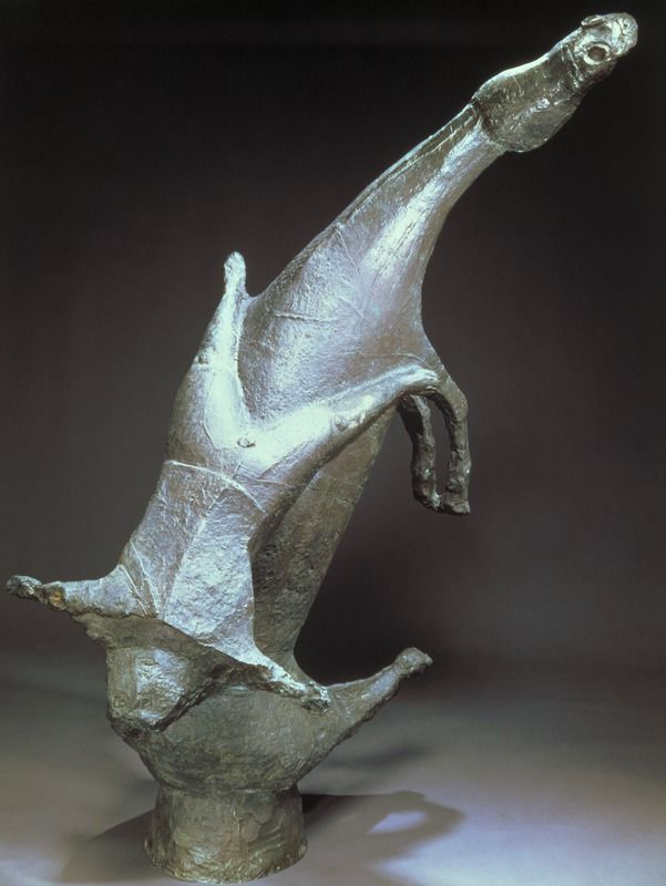 Marino Marini Miracle (Miracolo), 1952 Bronze, Overall: 59 1/8 x 39 x 28in. (150.2 x 99.1 x 71.1cm) Raymond and Patsy Nasher Collection, Nasher Sculpture Center, Dallas, TexasArtists Landing