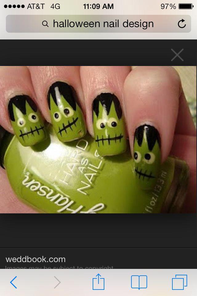 24 mejores imágenes de Halloween nails en Pinterest | Uñas de ...
