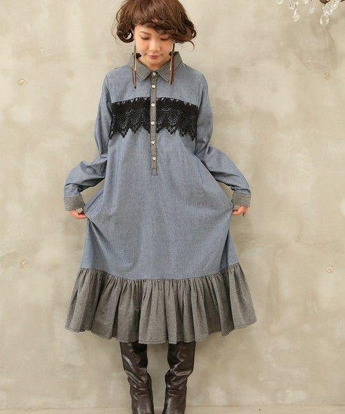 【ZOZOTOWN|送料無料】somari(ソマリ)のワンピース「感性に響く主役ワンピを。 一瞬にして特別になる。 『somariダンガリー裾フリルワンピース』」(OH-1371)を購入できます。