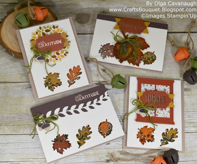 Paper Pumpkin October 2016 Season of Gratitude Alternatives.