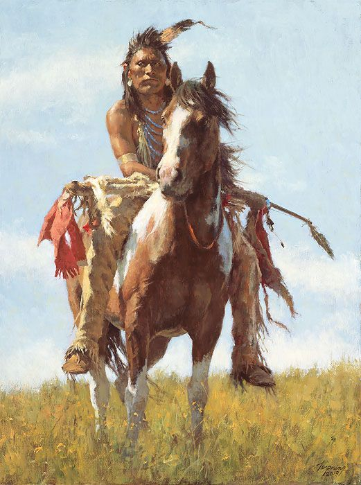 Quite simply, Howard Terpning is one of the most lauded painters of Western art…
