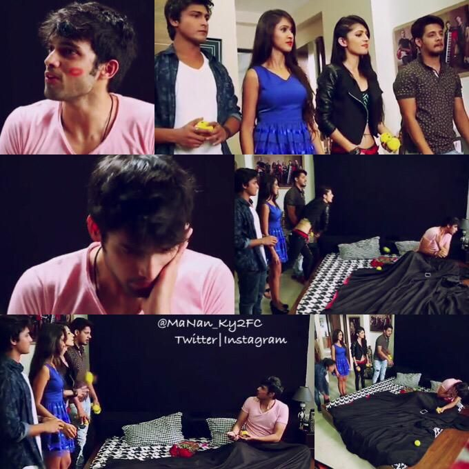 Fab4 entered the room and Manik was on the bed, this scene was awesome