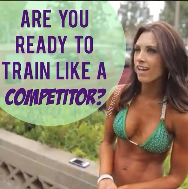 We've always wanted to train like a bikini fitness competitor but it sounded WAY too hard. Now @Autumn Calabrese has simplified her nutrition and workout plan so that anyone can do it! make sure to get first access on 2/3 by signing up at http://soreyfitness.com/fitness/21-day-fix-autumn-calabrese/