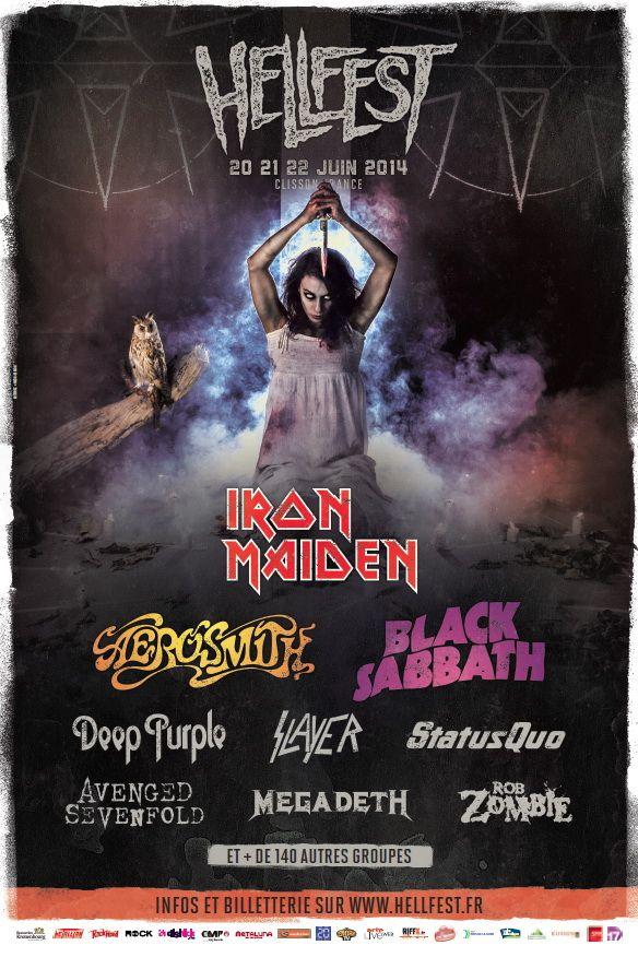 Black Sabbath en clôture  du Hellfest 2014 !! Notre live-report