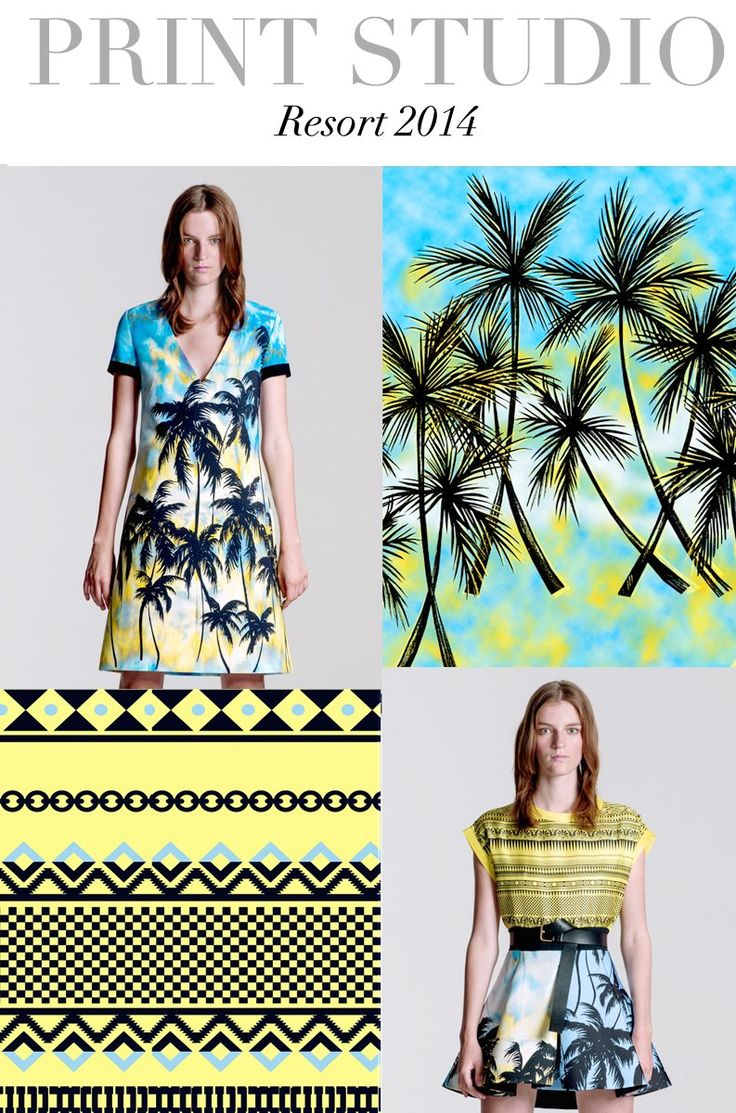 Future fashion trends 2014 - Trend Council Predicts Tropical Theme For Resort 2014