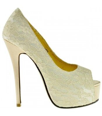 Sugarfree Shoes - 'Lafiel-Beige'