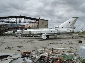 Abandoned Russian Planes at Ugolny Airport, Siberia