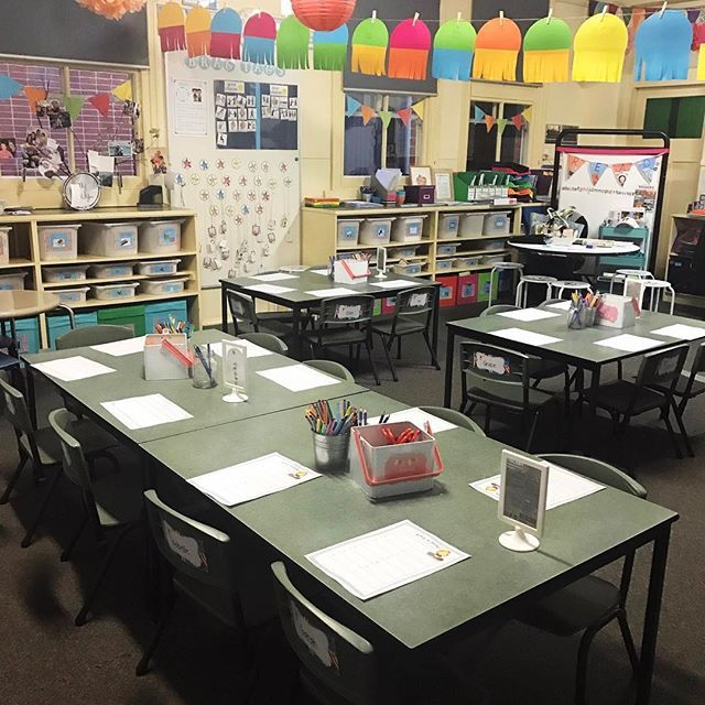 Where I spend my days.... 💕 #myhappyplace #classroomlove #classroom    #Regram via @misstessclassroom