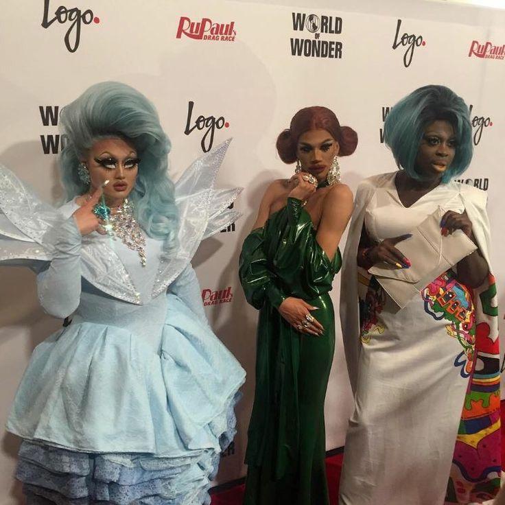 Rupaul's DragRace season 8 top three: Kim Chi, Naomi Smalls and Bob the drag queen
