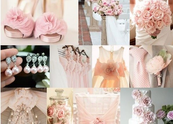 Pink, inspiration color su http://tulleeconfetti.com/