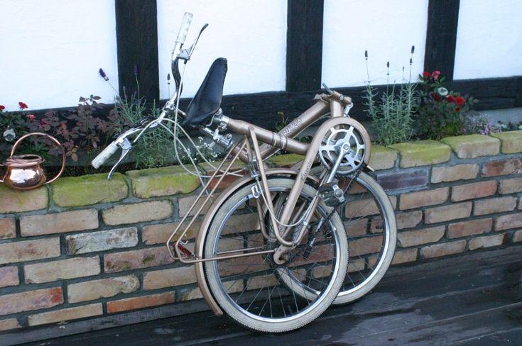 オートモビリア > 自転車 - Hercules ビンテージフォールディングバイク - ベスパ,ランブレッタ,専門バーンナップス