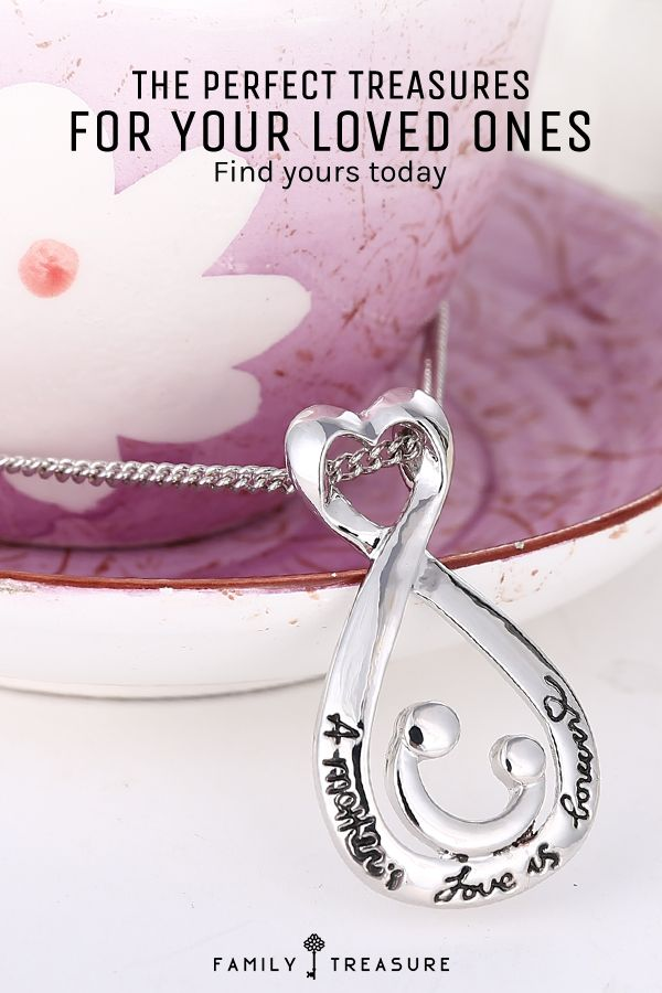 Give your loved ones a heartfelt, unique gift that they'll treasure for a lifetime with stunning necklaces from Family Treasure. Each piece comes complete with a heartwarming engraved message that will share your love with those that matter most. Shop the whole collection today.