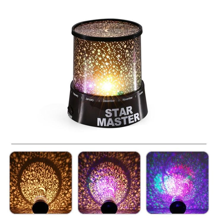 Led Night Light For Home Sky Star Night Light LED Projector Lamp Novelty Amazing Colorful Lamp