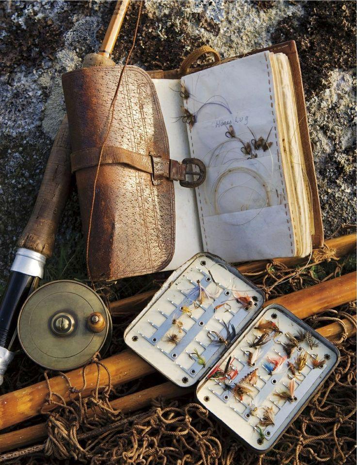 RL Winston split-cane fly rod & traditional fly-fishing equipment Photo by John Warburton-Lee  #issue5 #manoftheworld