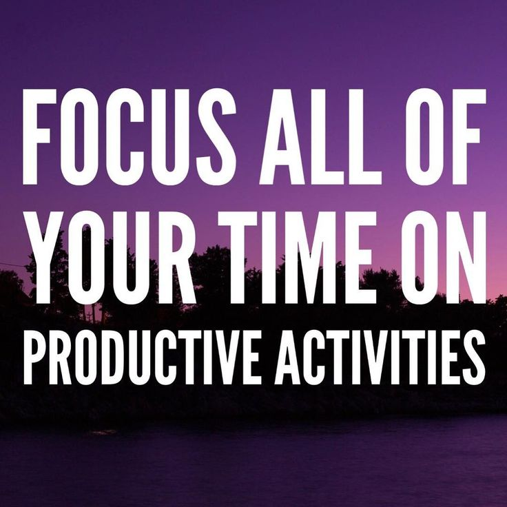 First you have to define what productivity means for you. Productivity applies to all aspects of life not just work or career. Think about the things that you value and love the most and prioritize them and then break down the most productive ways to accomplish those goals and put more energy towards them and reduce and eliminate the non essentials!