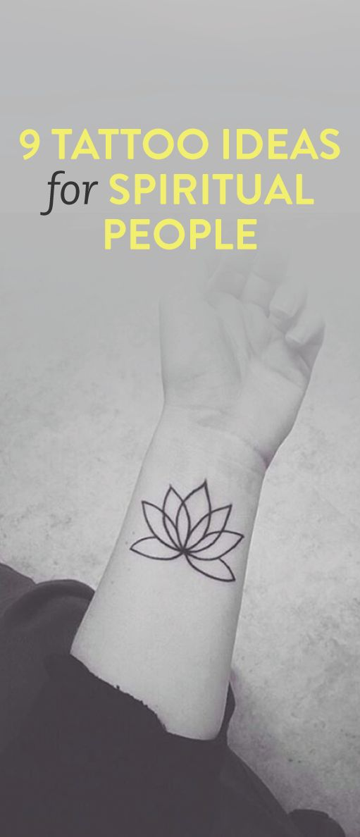 9 tattoo ideas for spiritual people .ambassador