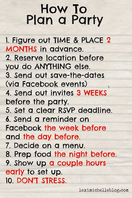 Best 25+ Party plan ideas on Pinterest Party planning checklist - free party planner template