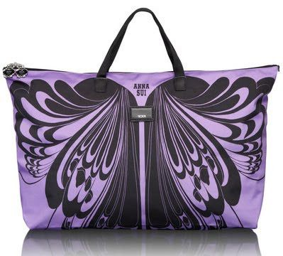 Anna Sui Designs a 2012 Spring Capsule Collection for Tumi.