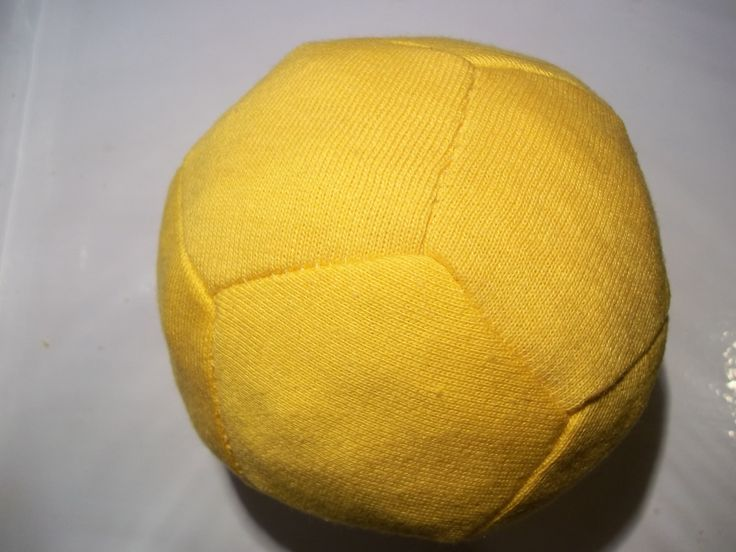How to sew a small ball