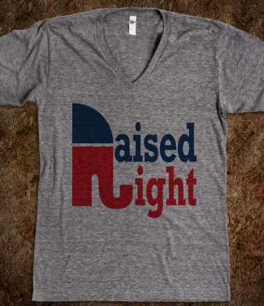 I'd wear this, just to make all my democratic friends angry. Bahaha