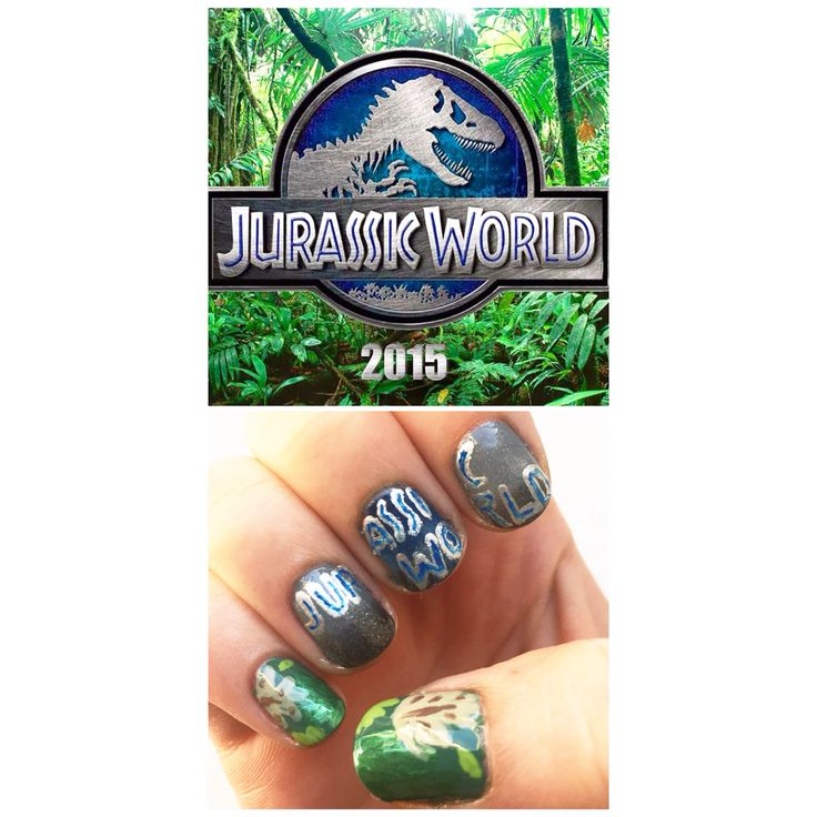 Jurassic World nails