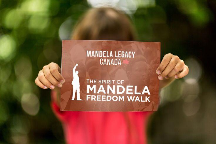 Logos for Mandela Legacy Canada and Spirit of Mandela Freedom Walk