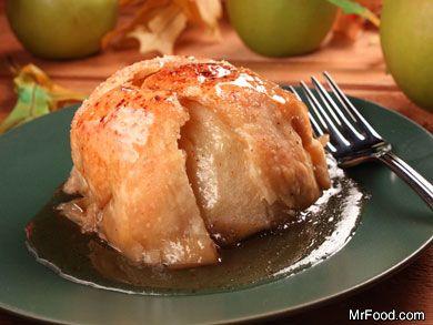 Apple Dumplings: Our Best Apple Dumpling Recipe | mrfood.com