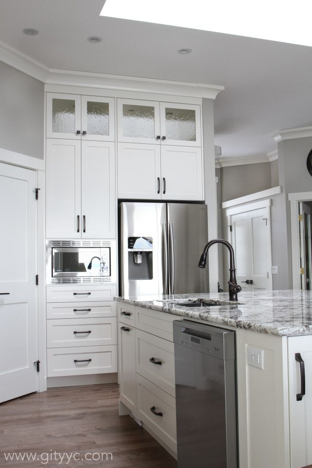 Cabinets Interior Doors And All Trim Bm Mascarpone Wall Bm Revere Pewter Paint Colours