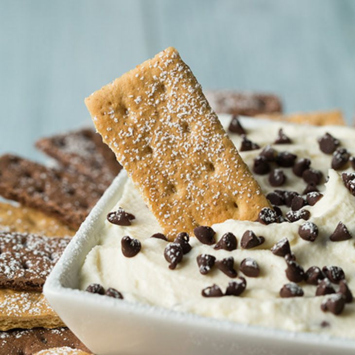 Cannoli Dip Recipe Desserts with ricotta cheese ...