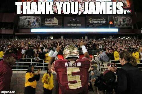 Thank you, Jameis Winston!