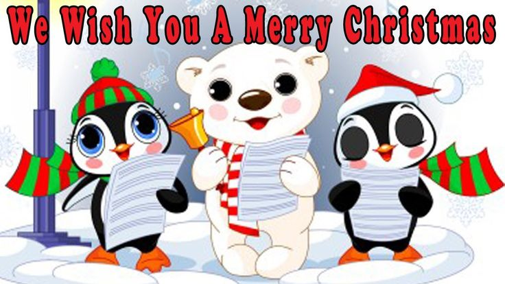Christmas Songs for Children with lyrics - We Wish You a Merry Christmas...