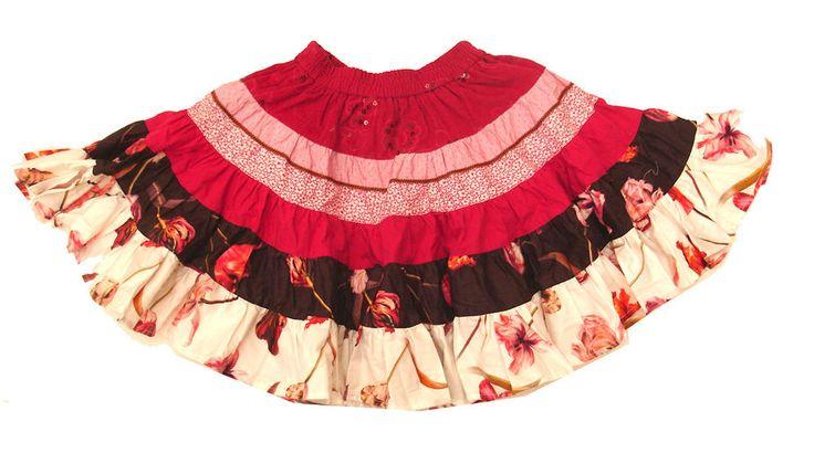 Jottum Rembrandt fuchsia tulip circle wide skirt 110 5 Y
