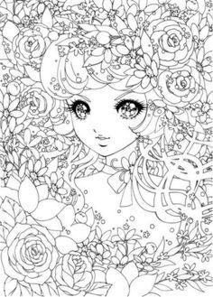Coloriage adulte manga : viens t'amuser gratuitement sur AncenSCP.com                                                                                                                                                                                 Plus