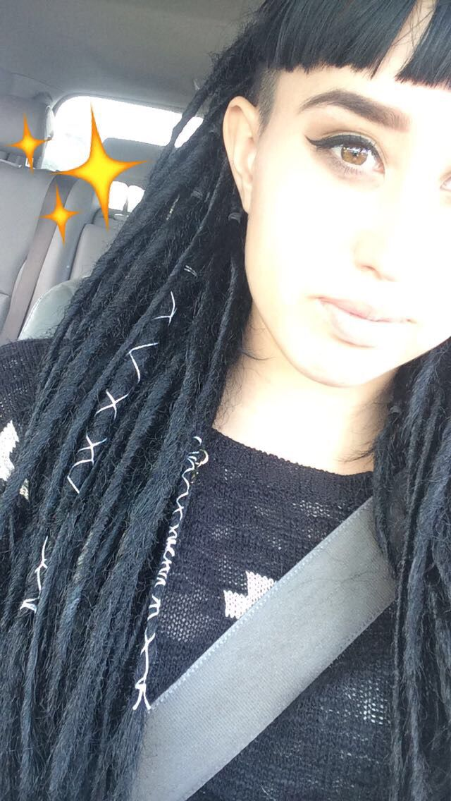 Synthetic dreads✨