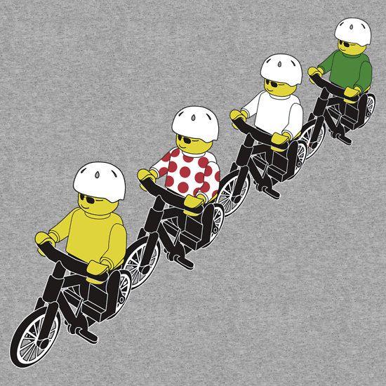 Tour De Lego by Bradley John Holland