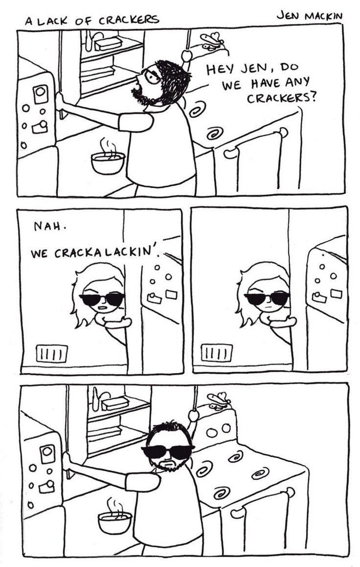 I laughed too hard