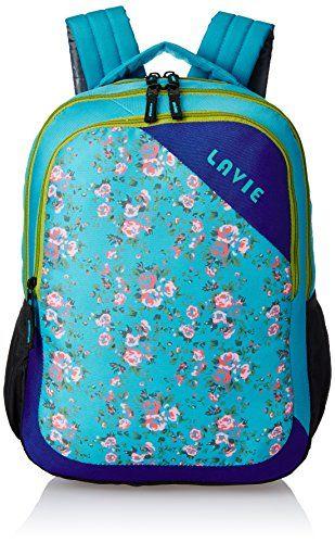 Lavie Synthetic Green School Bag (BHEI550050B3) - TellMePrice.com Online Shopping India