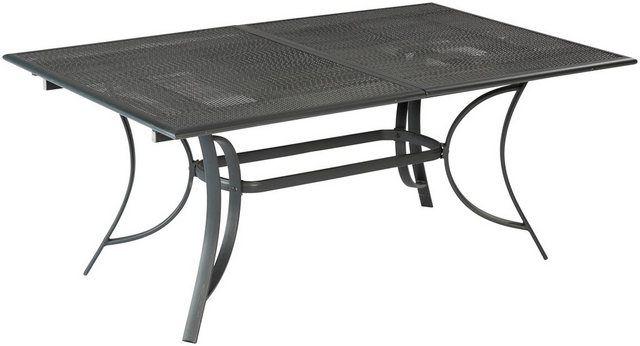 Gartentisch Delphi Aluminiumguss Ausziehbar 170 230 X100 Cm
