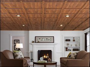 I Love This Wood Drop Ceiling! Inexpensive, But Looks Incredible!