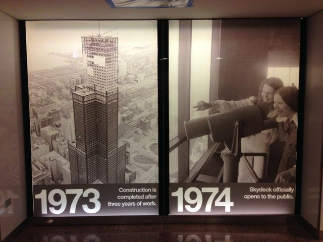 Check out this photo from 1974 when The Skydeck first opened!  #throwbackthursday #TBT