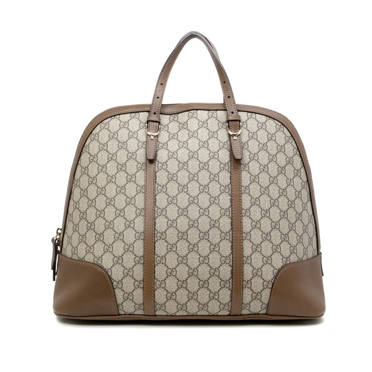 Gucci Supreme Canvas Medium Nice Top Handle Tote - modaselle