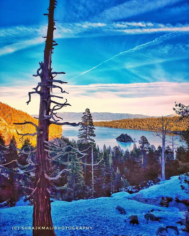 Lake Tahoe View From Emerald Bay View Point Fun Laketohe Vacation Samsungs10e Landscapephotography Landscape P In 2020 Bay View Lake View Landscape Photography