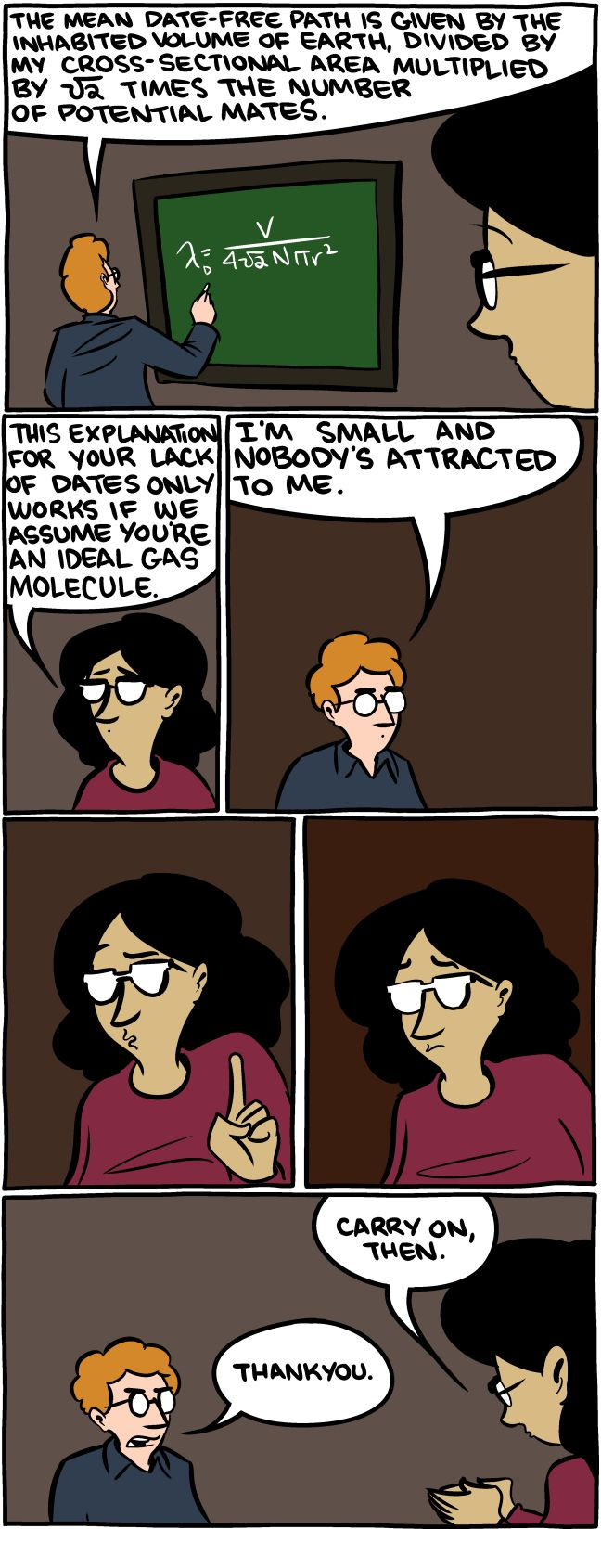 Noble Gas and Mrs. Wang