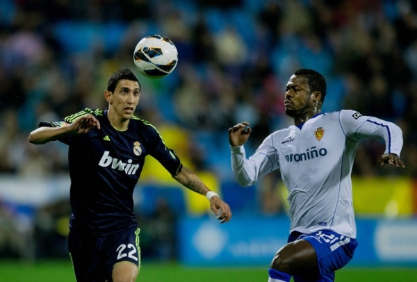 The Capital side was held to a 1-1 draw by Real Zaragoza despite Ronaldo striking his 44th goal of the season.