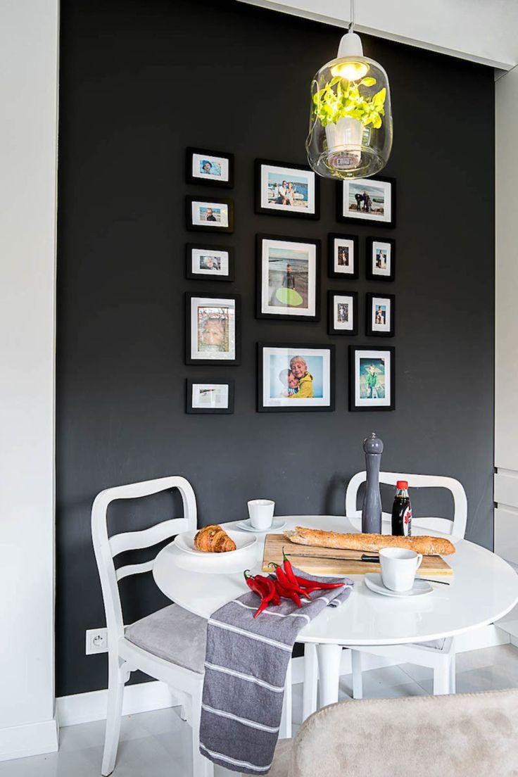 Dom na Żoliborzu. Kuchnia   tryc.pl #breakfast #kitchen #kuchnia #interiors #lamp #lightovo #interiorsdesigner #homedeign #homedecor #warszawa