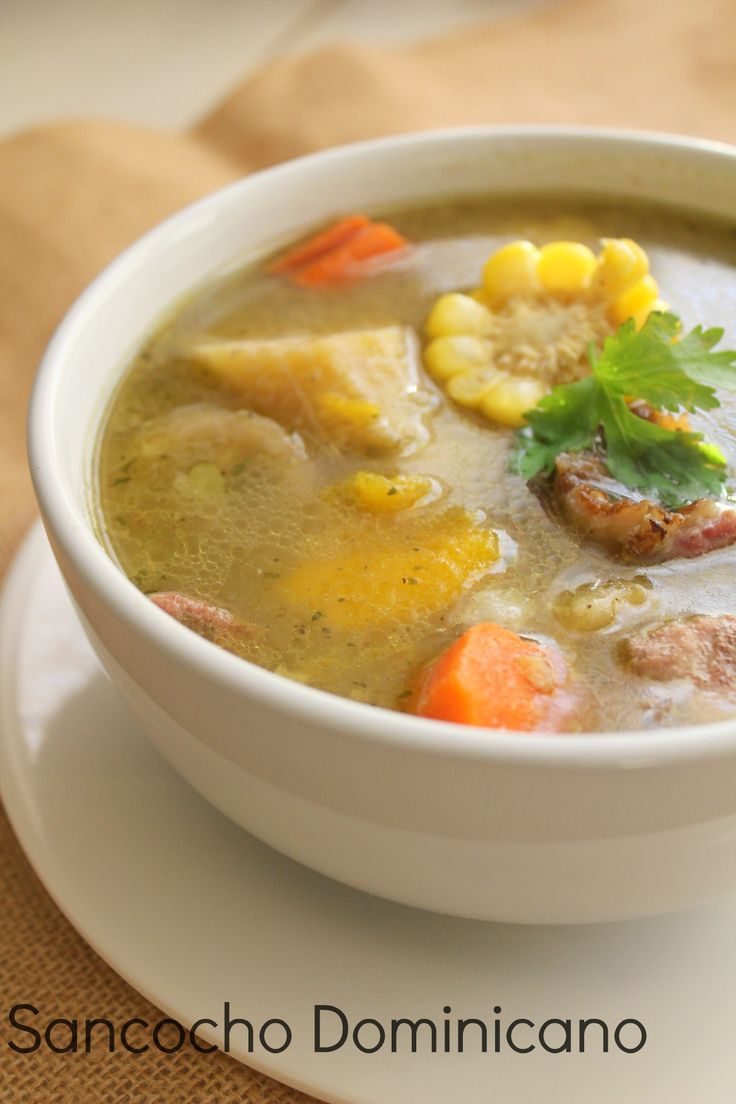 Without a doubt, sancocho dominicano is one of the favorites dishes of the Dominicans. Accompanied with a very cold beer is the perfect dish to celebrate any occasion