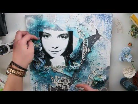 Mixed Media Layout Tutorial for More Than Words