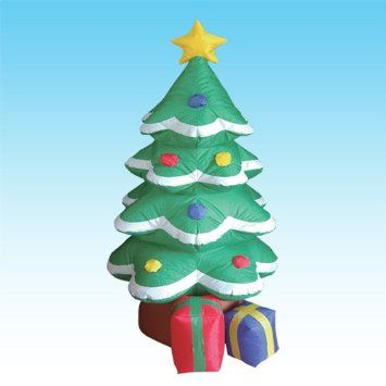 Airblown Inflatable Christmas Tree | Inflatable Christmas decorations for the yard